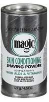 Magic Platinum Shaving Powder 4.5oz. Skin Conditioning (3 Pack)