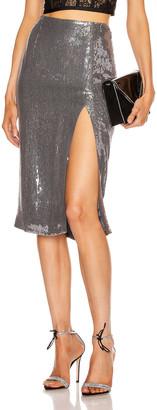 Rêve Riche Reve Riche Alara Skirt in Stone Silver | FWRD