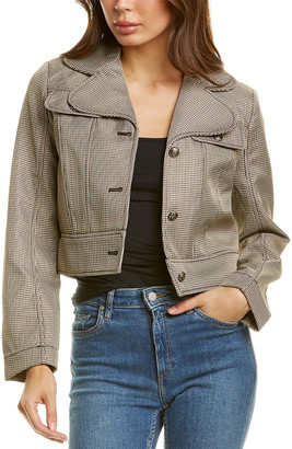Max Studio Cropped Jacket