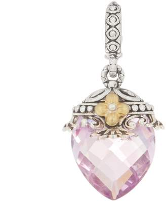 Barbara Bixby Sterling Silver 18K Gold Gemstone Enhancer