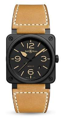 Bell & Ross BR 03-92 Heritage Ceramic Watch, 42mm