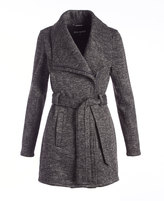 Steve Madden Heather Charcoal Trench Coat
