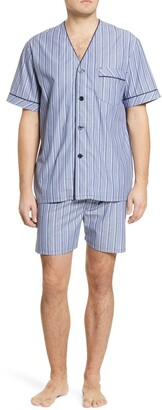 Majestic International Bedford Cotton Short Pajamas