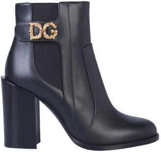 Dolce & Gabbana Love Logo Boot