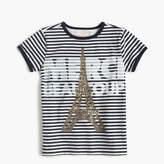 "J.Crew Girls' ""Merci Beaucoup"" T-shirt"