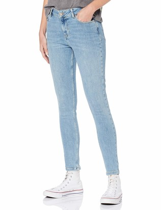 Superdry Women's Supervintage- Skinny Mid Rise Jeans