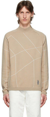 Paul Smith Pink Honeycomb Bunny Sweater