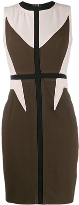 Givenchy Pre-Owned 2000's Panelled Fitted Dress