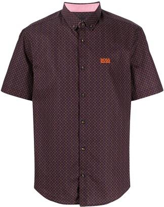 BOSS Short Sleeved Buttoned Shirt