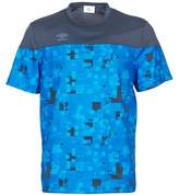 Umbro DIAMOND-POLY-TEE-AD-MARINE-OUTRE