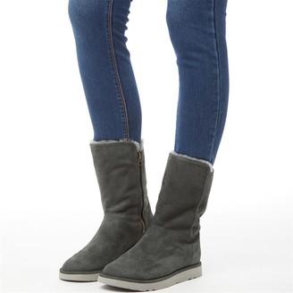 UGG Classic Womens Abree II Short II Boots Grigio