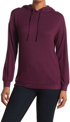 Caslon Brushed Pullover Hoodie