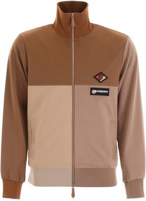 Burberry Logo Graphic Colour Brock Track Jacket