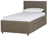 Single Leather Bed Frames Shopstyle Uk