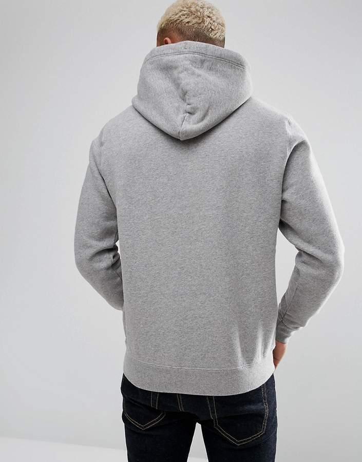 Jack Wills Batsford Hoodie In Grey Marl