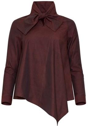 Bo Carter Alexandra Shirt Burgundy