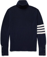 Thom Browne - Striped Cashmere Rollneck Sweater