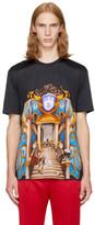 Versace Black Triptych T-Shirt