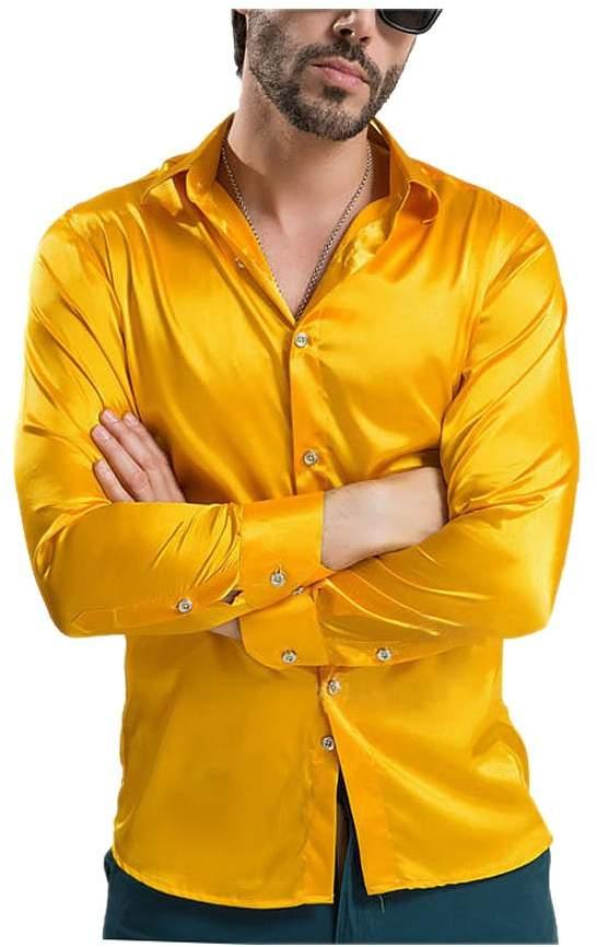 41eebe5b Yellow Dress Shirts For Men - ShopStyle Canada