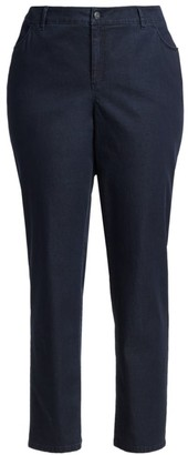 Lafayette 148 New York, Plus Size Thompson Slim Leg Jeans