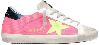 Golden Goose Superstar Sneakers In Fuxia Tech/synthetic
