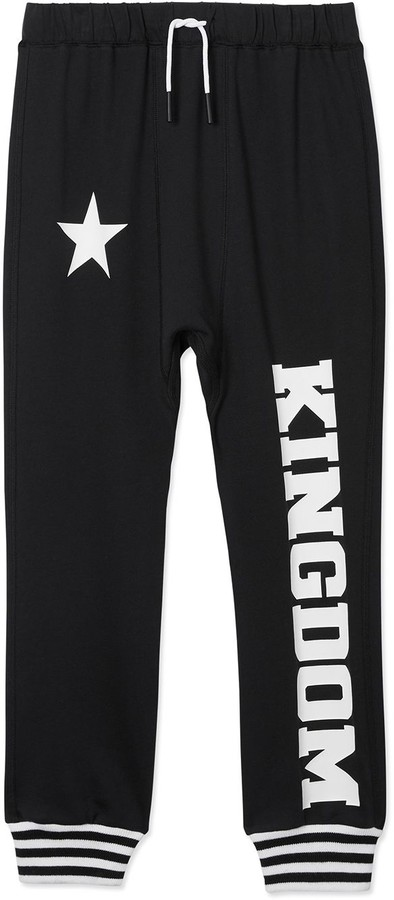 Burberry kingdom jersey track pants