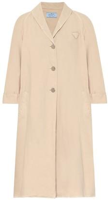 Prada Denim duster coat