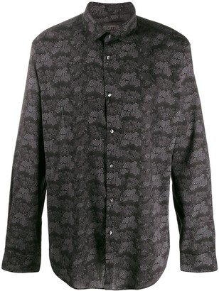 John Varvatos Floral Long-Sleeve Shirt