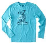 Life is Good Life Is Good? Long Sleeve Crusher T-shirt.