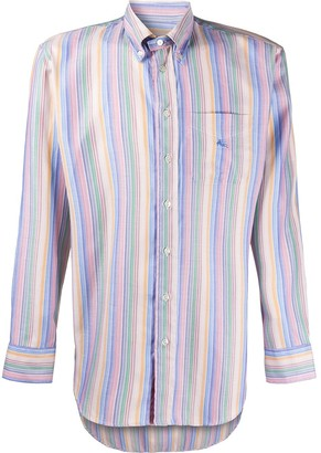 Etro Striped Button-Down Shirt