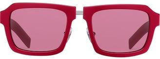 Prada Duple square-frame sunglasses
