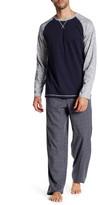 Majestic Raglan Shirt & Plaid Pant PJ Set