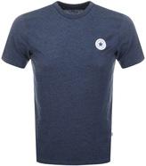 Converse Core Logo T Shirt Navy