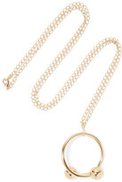 J.W.Anderson Gold-plated Necklace - one size