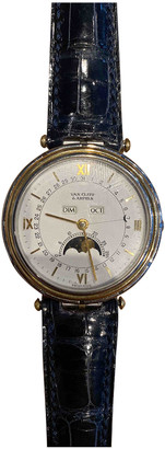 Van Cleef & Arpels Multicolour gold and steel Watches