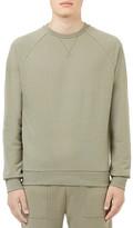 Topman Classic Fit Raglan Crewneck Sweatshirt