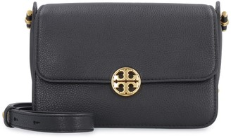 Tory Burch Chelsea Pebbled Leather Messenger Bag
