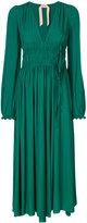 No.21 maxi dress - women - Silk/Acetate - 42