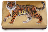 Jay Strongwater Tiger Ottoman