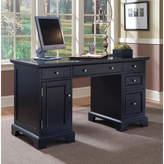 Alcott Hill Marblewood Double Pedestal Computer Desk