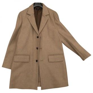 A.P.C. Camel Wool Coats