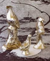 Clearance - Antiqued Mercury Glass Birds