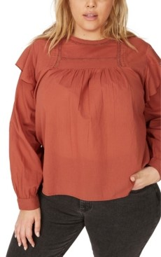 Cotton On Curve Smock Lace Blouse