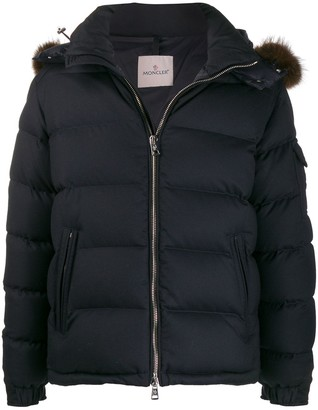 Moncler Quilted Zipped Hooded Jacket