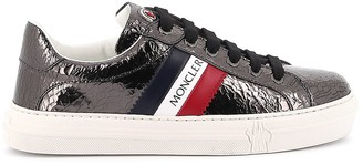 Moncler Tricolour Striped Low-Top Sneakers