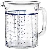 Emsa 2217100000 Superline measuring jug, 1.0 litre, transparent/blue