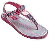 Hello Kitty Toddler Girls' Shimmer Thong Sandals
