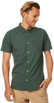 RVCA Daisy Dot Ss Mens Shirt Green