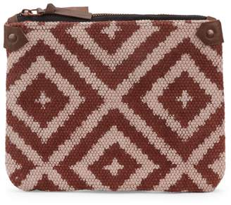Indaba Geometric Top-Zip Pouch