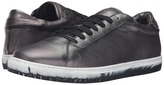 Just Cavalli Matt Lame Leather Sneakers Men's Shoes